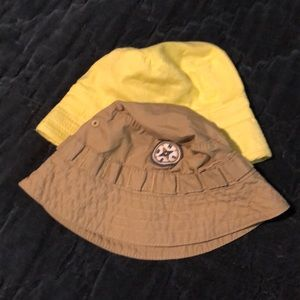 Lot of 2 Baby Flounder Hats